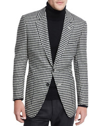 8c867e26005 ... Gingham Sport Coat Blackwhite Tom Ford Buckley Base Large Gingham Sport  Coat Blackwhite Out of stock · jcpenney The Savile Row Co Saville Row Check  ...