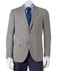 Savile Row Modern Fit Checked Sport Coat