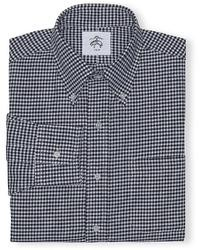 Brooks Brothers Black Fleece Gingham Button Down Shirt