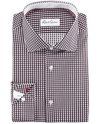 Robert Graham Lyon Gingham Dress Shirt Black