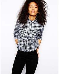 Asos Shirt In Gingham Check