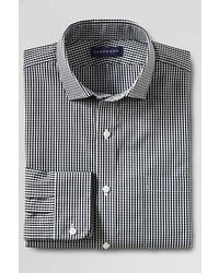 Classic Tailored Fit Limited Edition Spread Collar Dress Shirt Ivory Multi Plaid