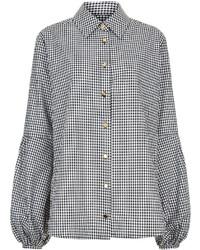 Macgraw gingham cotton baguette blouse medium 3641184