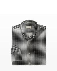 Club Monaco Slim Fit Nep Gingham Shirt