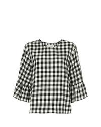 Sweetie check ruffle blouse medium 7745245