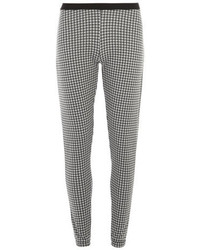 Dorothy Perkins Black And White Gingham Style Treggings
