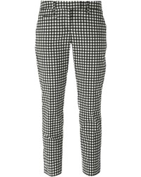 Dondup Gingham Cropped Trousers