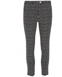 Gingham skinny trousers medium 395030