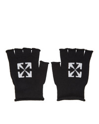 Off-White Black Arrows Fingerless Gloves