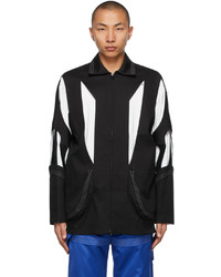 Kiko Kostadinov Black Hydra Shell Jacket