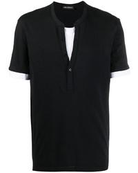Neil Barrett Layered Short Sleeve T Shirt