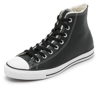 d9d32e10fa05 ... Converse Chuck Taylor All Star Sherpa Lined High Top Sneakers ...
