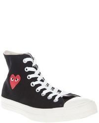 Comme des Garcons Comme Des Garons Play High Top Sneaker