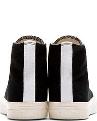 comme des garcons converse high top black