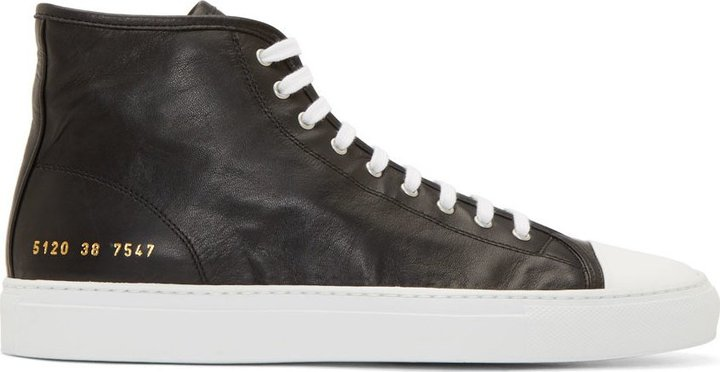 Tournament hi-top sneakers - Black Common Projects IDC3F3o4E3