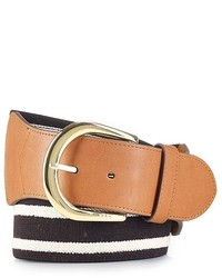 Lauren Ralph Lauren Belt Lauren Striped Stretch