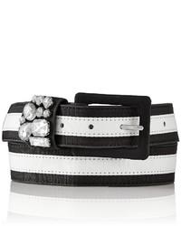 The Limited Striped Gem Belt