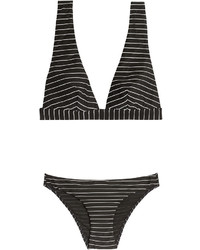 Zimmermann Striped Bandeau Bikini
