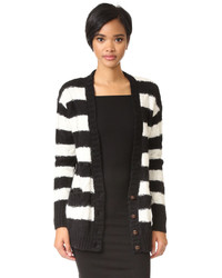 Current/Elliott The V Neck Cable Cardigan