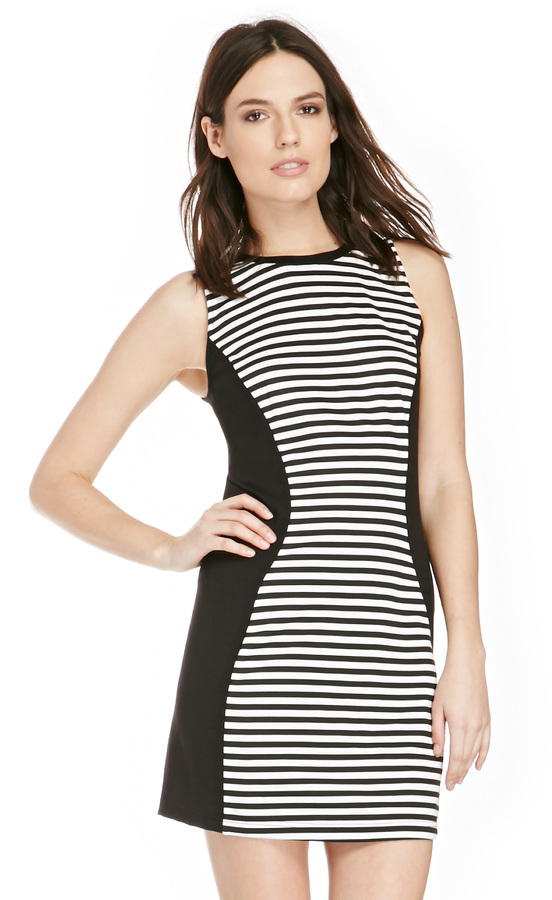 BB Dakota Jack By Clarence Dress In Black White Stripe Xs S ...