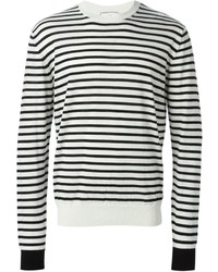 Alexandre mattiussi striped sweater medium 273641