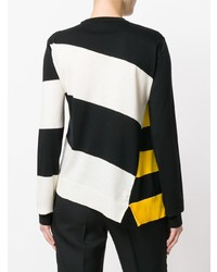 Calvin Klein 205W39nyc Asymmetric Striped Jumper