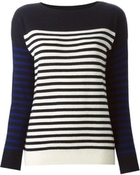 Demylee fine knit stripes sweater medium 201174