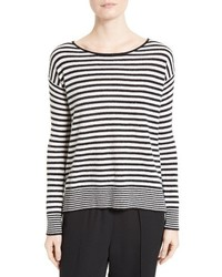 Joie Lise Stripe Cashmere Sweater
