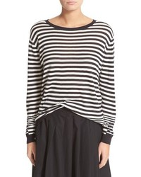 Vince Oversize Stripe Pullover