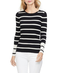 Vince Camuto Ribbed Stripe Sweater