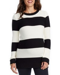 Rosie pope sara stripe maternity sweater medium 3649196