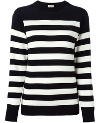 Saint laurent striped sweater medium 374555