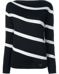 Salvatore Ferragamo Striped Sweater