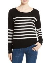 Joie Simonne Stripe Wool Cashmere Sweater