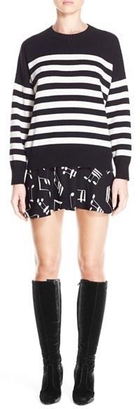Saint Laurent Stripe Cashmere Sweater