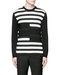 Marni Stripe Cotton Wool Sweater