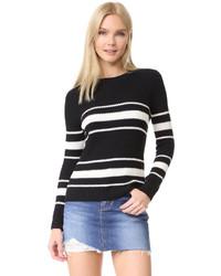 Chinti and Parker Stripe Fisherman Sweater