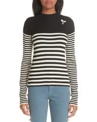 Tu Es Mon Trésor Stripe Sweater