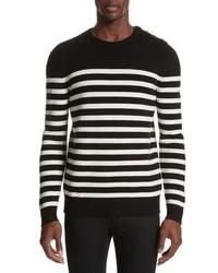 Saint Laurent Stripe Wool Sweater