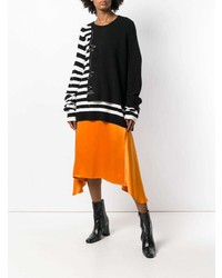 Haider Ackermann Striped Detail Sweater
