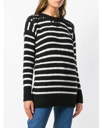 Ermanno Scervino Striped Knit Sweater