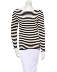 Tory Burch Striped Sweater