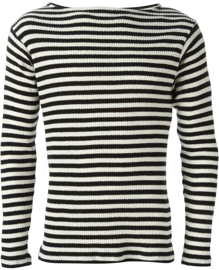 Saint Laurent Striped Sweater | Where to buy & how to wear