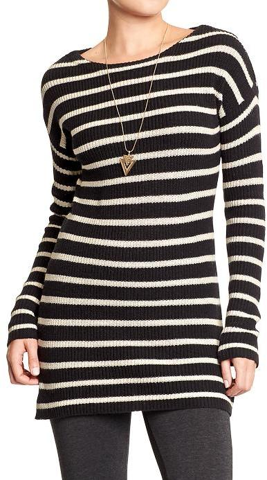 Old Navy Striped Tunic Sweaters | Where to buy & how to wear