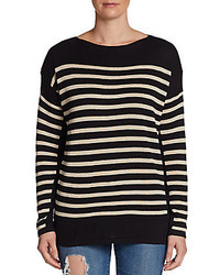 Sweet Romeo Striped Pullover