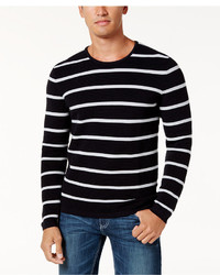 INC International Concepts Textured Striped Sweater Created For Macys