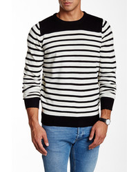 Yoki Striped Pullover Sweater
