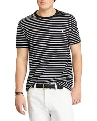 Polo Ralph Lauren Custom Crew Neck Slim Fit Striped Jersey Short Sleeve Tee