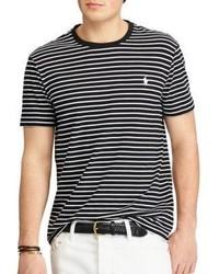 Polo Ralph Lauren Custom Slim Fit Striped Cotton Tee