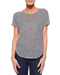 Jeans walker shore stripe slub tee medium 51793